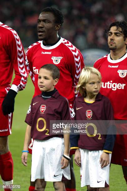 FC Thun's Armand Deumi and Adriano Pimenta