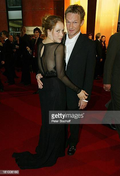 Thure DRiefenstein Lebensgefährtin Patricia Lueger Gala Verleihung Deutscher Fernsehpreis 2003 Köln Coloneum roter Teppich Promis Prominenter...