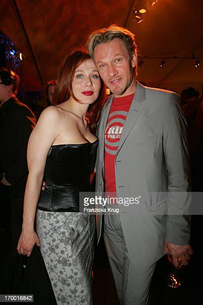 Thure Riefenstein And girlfriend Patricia Lueger at The Premiere Of The Musicals The 3 Musketeers at Theater des Westens in Berlin