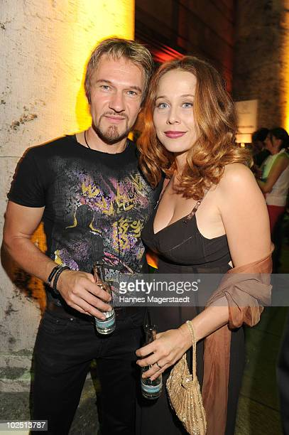 Thure Riefenstein and his wife Patricia Lueger attend the Movie Meets Media party at P1 on June 28, 2010 in Munich, Germany.