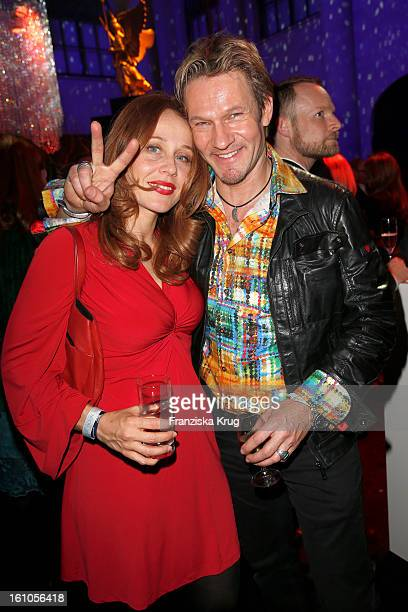 Thure Riefenstein and Patricia Lueger attend the 'Festival Night by Bunte and BMW' at the 63rd Berlinale International Film Festival at the Humboldt...