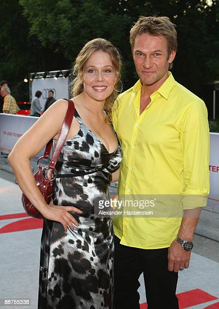 Thure Riefenstein attends with Patricia Lueger the 'Movie Meets Media' party at discotheque P1 on June 29, 2009 in Munich, Germany.