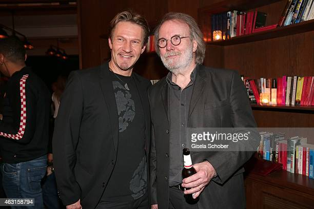 Thure Riefenstein Benny Andersson Founder of ABBA during 'The Circle' After Show Cocktail 65th Berlinale International Film Festival on February 10...
