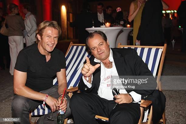 Thure Riefenstein Und Markus Majowski Bei Wir Lieben Kino Director'S Cut Party Auf Der Praterinsel In München Am 210608