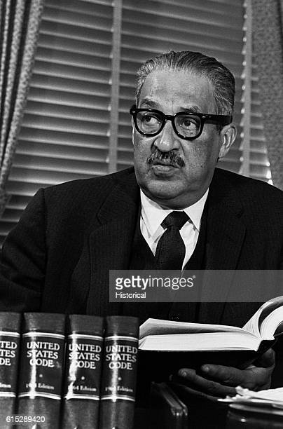 Thurgood Marshall who in 1954 successfully argued the case which desegregated American public schools before the Supreme Court He was himself...
