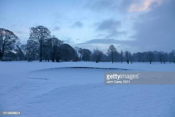 Thurles Golf Club in the Snow
