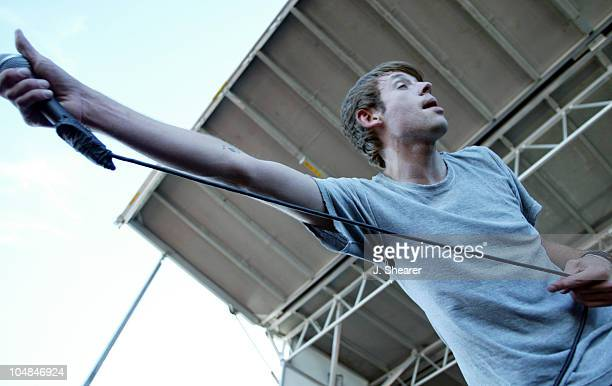 Thursday during 2002 Vans Warped Tour San Francisco at Piers 30/32 in San Francisco California United States