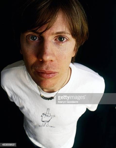 Thurston Moore of Sonic Youth portrait London United Kingdom 1998