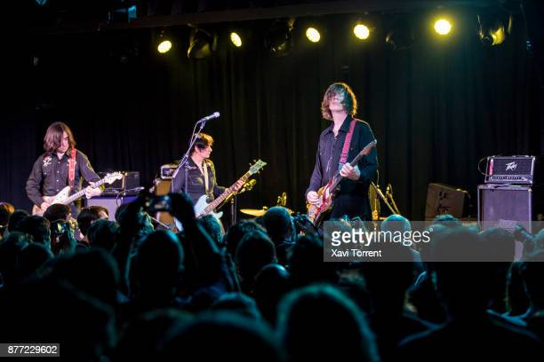 Thurston Moore performs in concert at Sala Apolo on November 21 2017 in Barcelona Spain