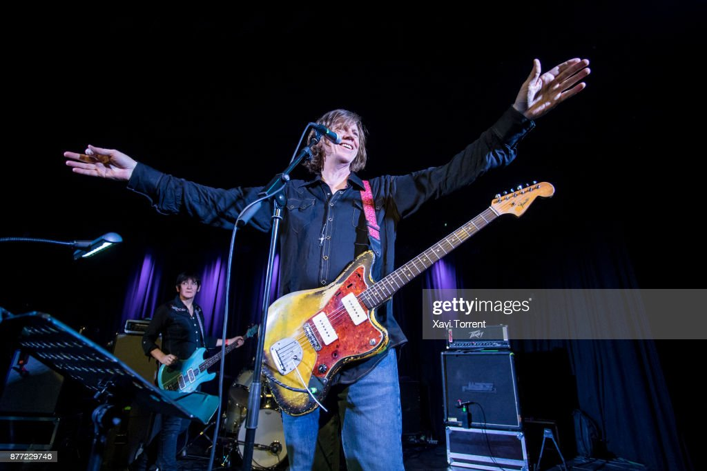 Thurston Moore Performs in Concert in Barcelona