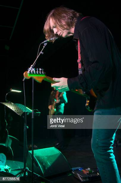 Thurston Moore performs on stage at Sala Apolo on November 21 2017 in Barcelona Spain