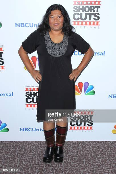 Thushari Jayasekera attends NBC Universal's 8th Annual Short Cuts Festival Grand Finale at DGA Theater on October 23 2013 in Los Angeles California