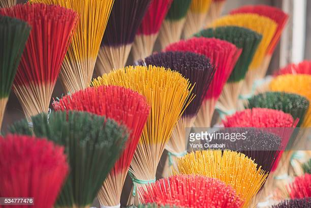 Thuy Xuan Incenses Village in Hue, Vietnam : smells and colors