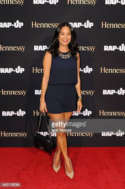 ThuyAnh J Nguyen attends the RapUp PreBET awards dinner presented by Hennessy at Hotel BelAir on June 21 2016 in Los Angeles California