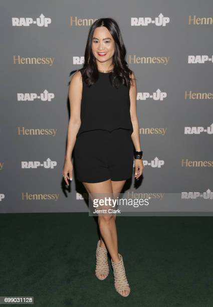 ThuyAnh J Nguyen Hennessy West Coast Marketing Manager attends the RapUp 3rd Annual PreBET Awards Dinner Presented by Hennessy at Palihouse West...