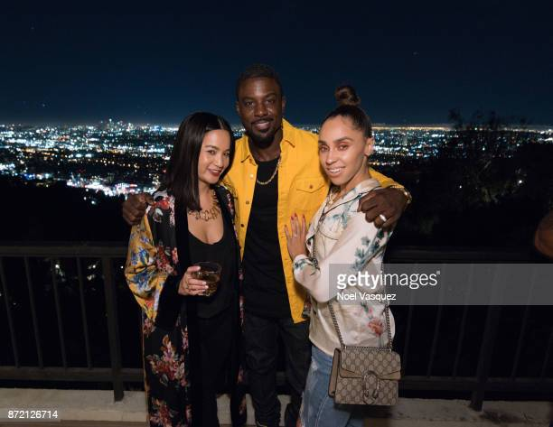 ThuyAnh J Nguyen Lance Gross and Rebecca Jefferson attend Hennessy Le Voyage hosted by ThuyAnh J Nguyen on November 8 2017 in Los Angeles California
