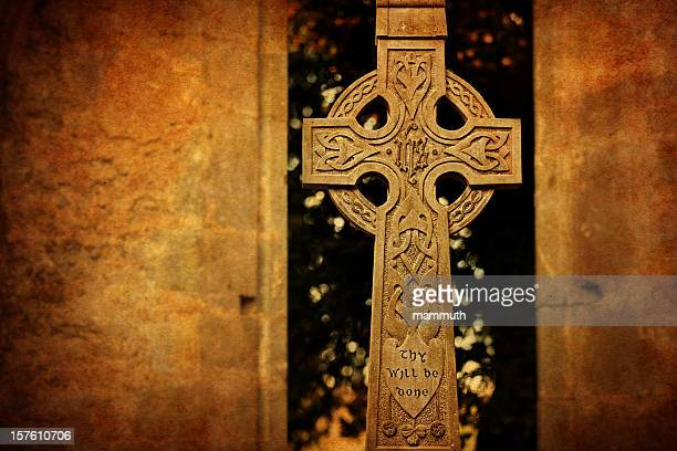 Thy will be done on celtic cross