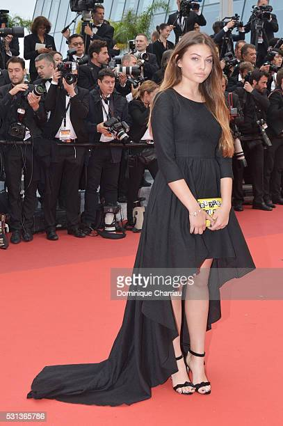 Thylane Blondeau attends The BFG premiere during the 69th annual Cannes Film Festival at the Palais des Festivals on May 14 2016 in Cannes France