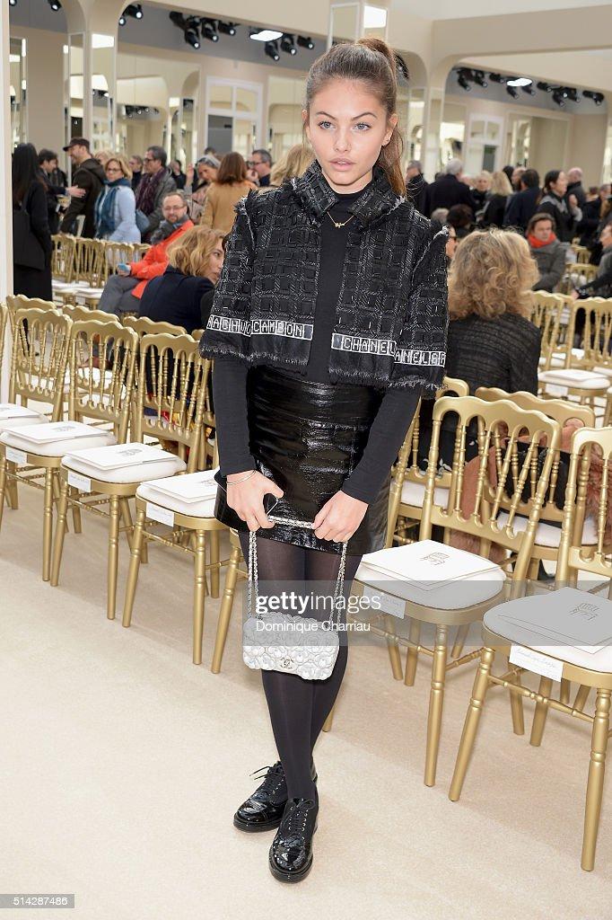 Chanel : Front Row- Paris Fashion Week Womenswear Fall/Winter 2016/2017