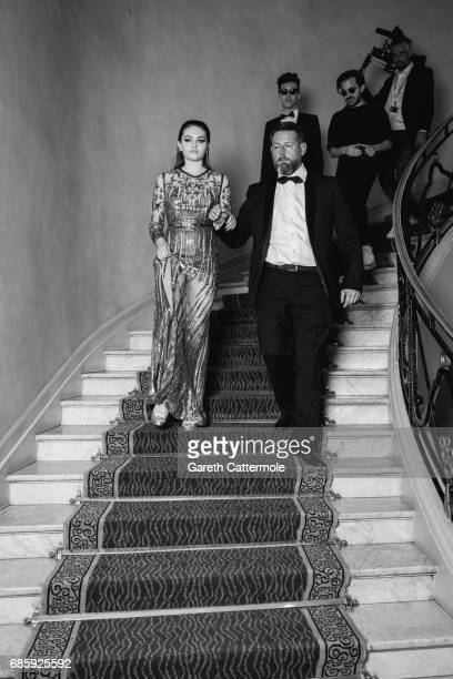 Thylane Blondeau departs the Martinez Hotel during the 70th annual Cannes Film Festival on May 19 2017 in Cannes France