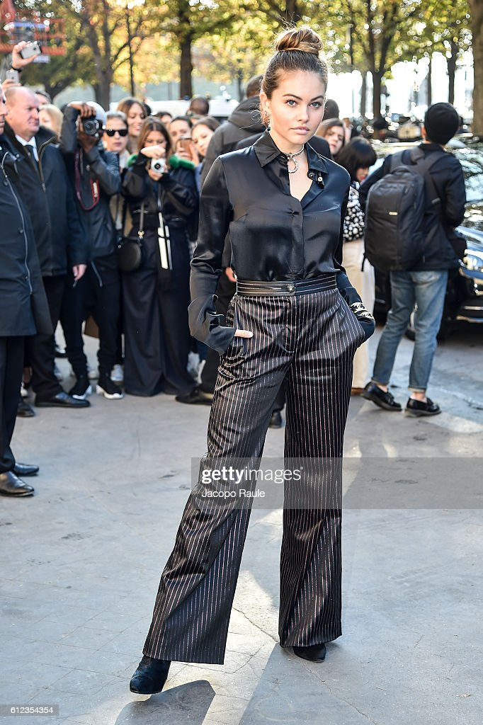 Celebrity Sightings : Day  Eight  - Paris Fashion Week Spring/Summer 2017
