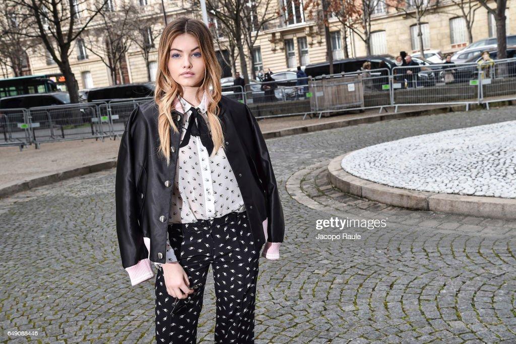 Celebrity Sighting : Day Eight- Paris Fashion Week Womenswear Fall/Winter 2017/2018
