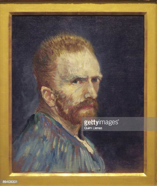 ThyssenBornemisza Museum Madrid Spain 'The Mirror and the Mask' Exhibition SelfPortrait by Vincent van Gogh
