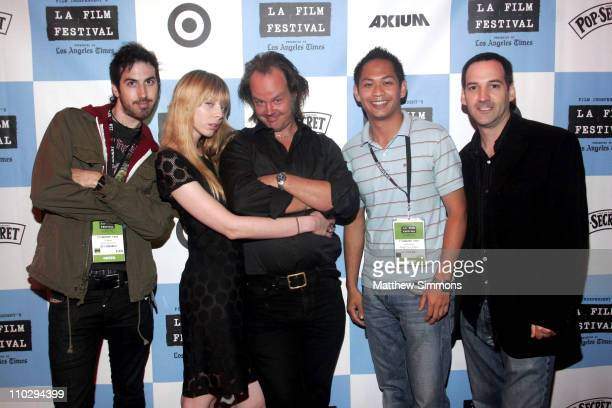 Ti West Alexi Wasser Larry Fessenden director Peter Phok and Jeff Grace