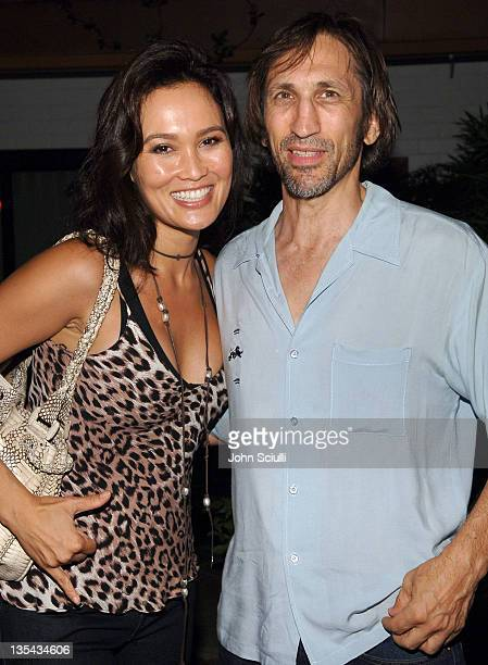 Tia Carrere and Richard Edson during Thompson Media Presents World Premiere of LA Suite at the Hollywood Roosevelt Hotel at Hollywood Roosevelt Hotel...