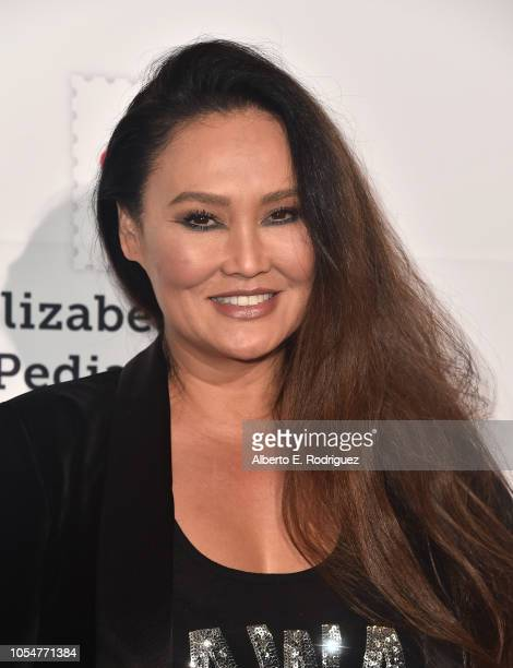 Tia Carrere attends the Elizabeth Glaser Pediatric Aids Foundation's 30th Anniversary A Time For Heroes Family Festival at Smashbox Studios on...