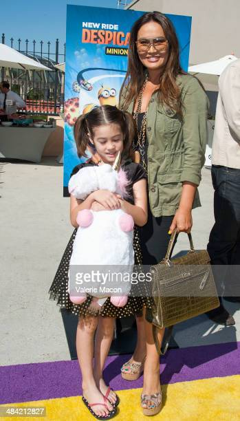 Tia Carrere attends Universal Studios Hollywood Celebrates The Premiere Of New 3D Ultra HD digital Animation Adventure 'Despicable Me Minion Mayhem'...