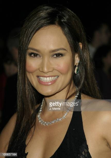 Tia Carrere during 15th Annual Palm Springs International Film Festival at Palm Springs Convention Center in Palm Springs, California, United States.