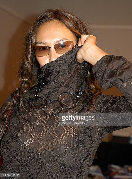 Tia Carrere during 2003 Spike TV Video Game Awards Backstage Creations Gift Bags Presentation at The MGM Grand Hotel And Casino Resort in Las Vegas...