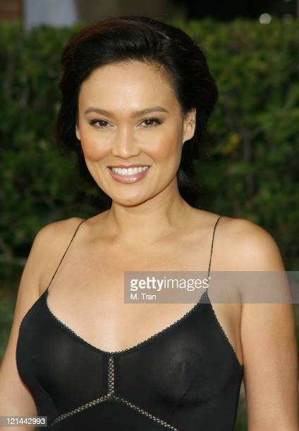 Tia Carrere during 2007 AZN Asian Excellence Awards Arrivals at Royce Hall UCLA Campus in Westwood California United States