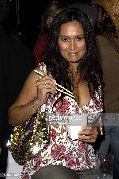 Tia Carrere during 44th GRAMMY Awards BMG AfterParty at The Argyle Hotel in Hollywood California United States
