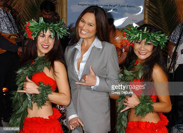 Tia Carrere during 50 First Dates Premiere at Mann Village Theatre in Westwood California United States