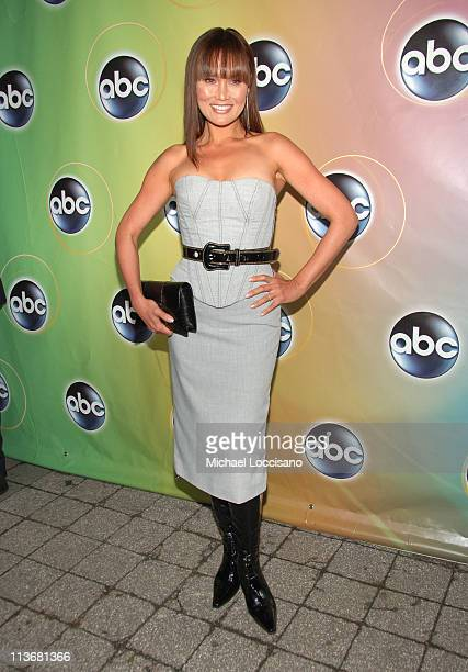 Tia Carrere during ABC Upfront 2006/2007 Arrivals at Lincoln Center in New York City New York United States