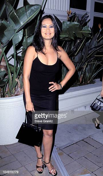 Tia Carrere during Album Release Party for Janet Jackson's 'The Velvet Rope' at Sony Pictures Studios in Culver City California United States
