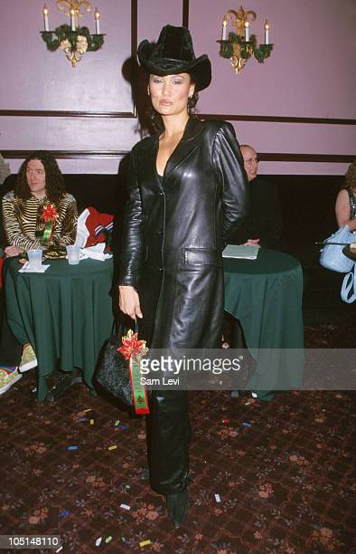 Tia Carrere during Hollywood Christmas Parade at Hollywood Boulevard in Hollywood California United States