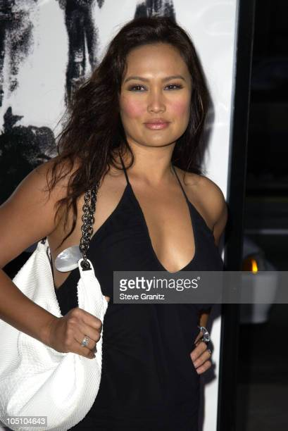 Tia Carrere during Identity Premiere at Grauman's Chinese Theatre in Hollywood California United States