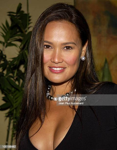 Tia Carrere during John Singleton Honored with a Star on the Hollywood Walk of Fame After Party in Hollywood California United States