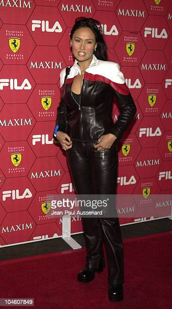 Tia Carrere during Maxim Magazine Party at Pacific Design Center in West Hollywood California United States