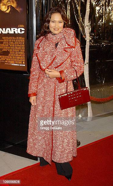 """Tia Carrere during """"Narc"""" World Premiere - Los Angeles at Academy of Motion Picture Arts & Sciences in Beverly Hills, California, United States."""