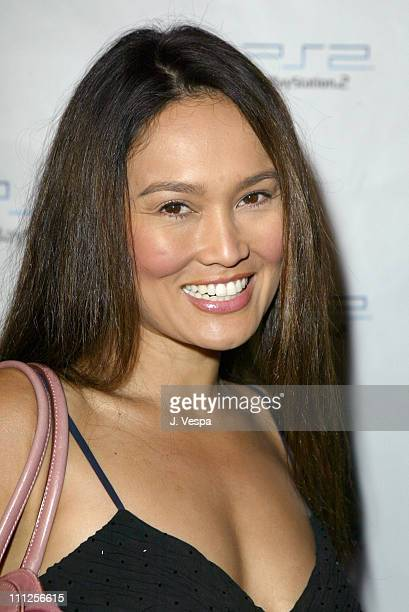 Tia Carrere during Playstation 2 Launches Concert Series - Jet and The Vines Live at Avalon in Hollywood at Avalon in Hollywood, California, United...