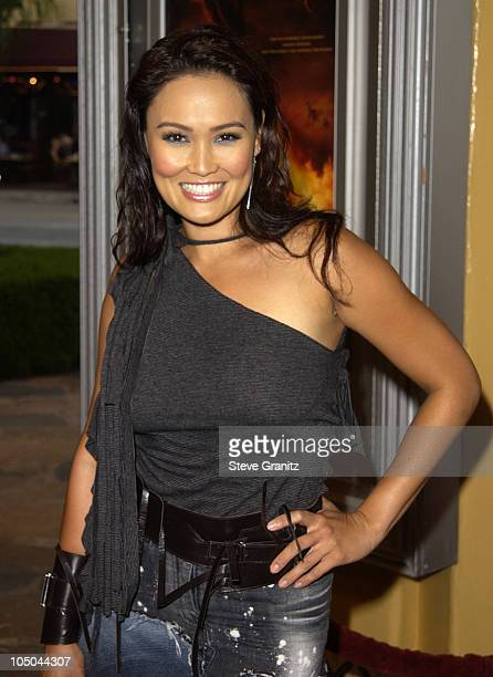 Tia Carrere during Reign of Fire Premiere at Mann's Village in Westwood California United States