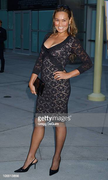 Tia Carrere during Stander Los Angeles Premiere Arrivals at ArcLight Theatre in Hollywood California United States