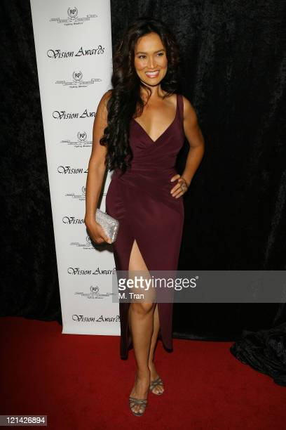 Tia Carrere during The 34th Annual Vision Awards at Beverly Hilton in Beverly Hills California United States