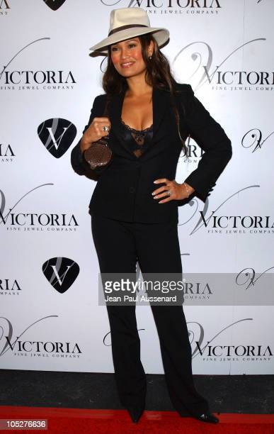 Tia Carrere during Victoria Jewels Store Opening - Arrivals at Victoria Jewels in Beverly Hills, California, United States.