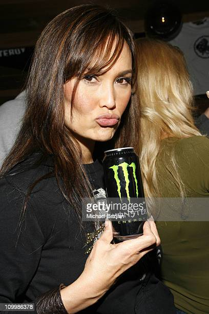 Tia Carrere during Whiteboy Fashion and Rock Show Fall 2006 at Jimmy's Lounge in Hollywood California United States