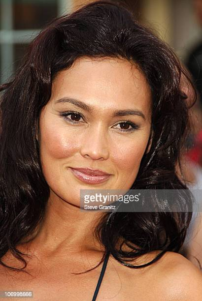 Tia Carrere during World Premiere of Walt Disney Pictures' Pirates of the Caribbean Dead Man's Chest Arrivals at Disneyland in Anaheim California...